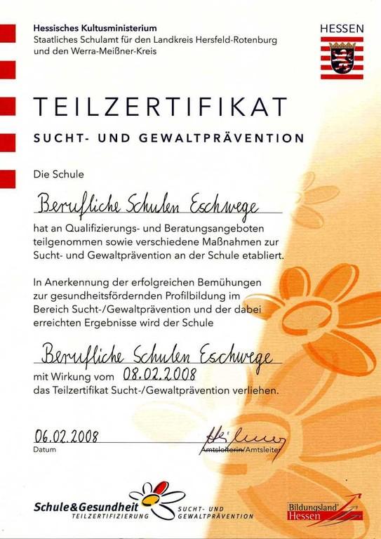 Berufliche Schulen Eschwege - Schule & Gesundheit